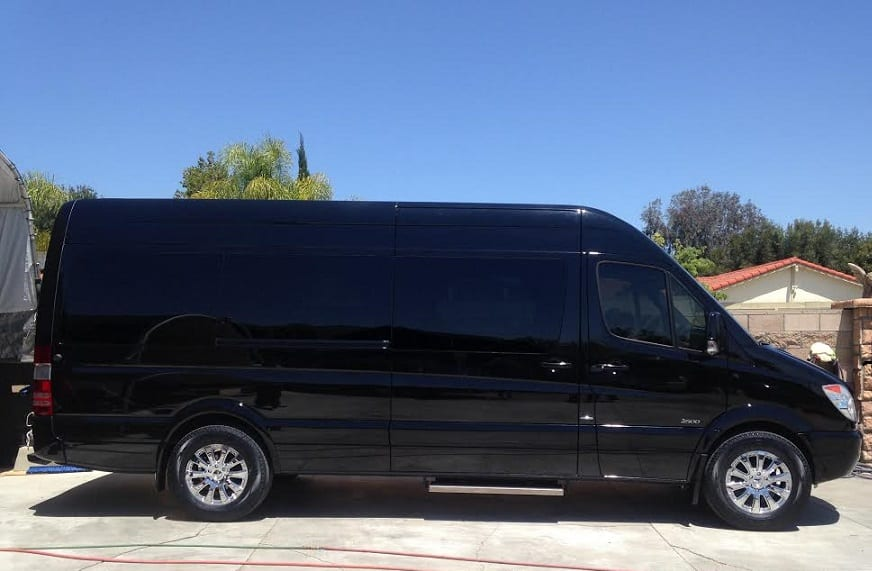 Mercedes benz sprinter the perfect limo for Luxury mercedes benz sprinter